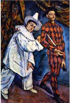 Snapgalaxy Art Panel - Mardi Gras by Cezanne Canvas Painting