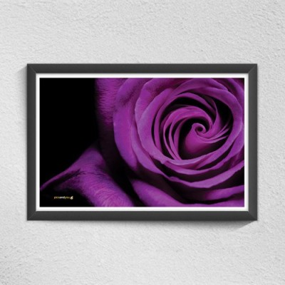 Pics And You Purple Elegance Digital Reprint Painting