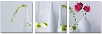 Painting Mantra Wondrous Floral Vase Set Canvas Painting