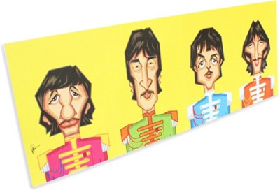 Graphicurry Beatles Tribute Canvas Painting
