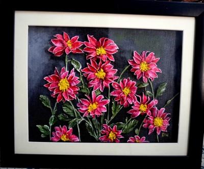 Sharpen Strokes Acrylic Painting