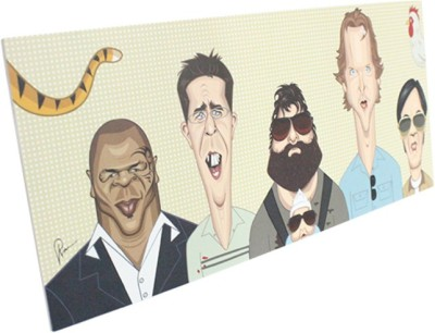 Graphicurry Hangover Canvas Painting