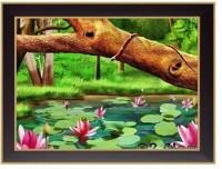 Nilgiri Touch Scenary Photo Frame Canvas Painting(10 inch x 13 inch)