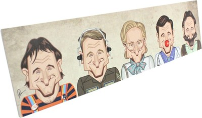 Graphicurry Robin Williams Tribute Canvas Painting