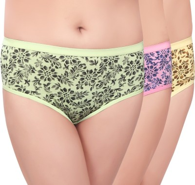 Curves n Shapes Women's Hipster Multicolor Panty