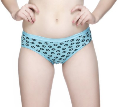 Nutex Women's Brief Blue, Red Panty