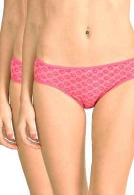 Lenora Women's Bikini Pink Panty