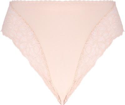 Peches Lace Ends Women's Bikini Pink Panty
