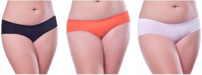 Our Rituals Women's Hipster Black, Orange, White Panty