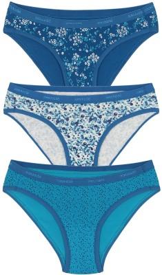 Amante Women's Bikini Blue Panty