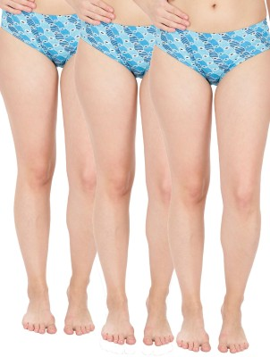 Radisun Women's Hipster Light Blue, Black, Multicolor Panty