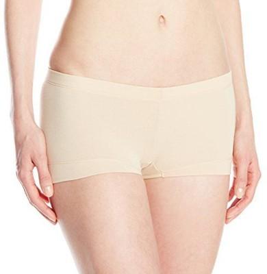 Fashion Line Women's Boy Short Beige Panty
