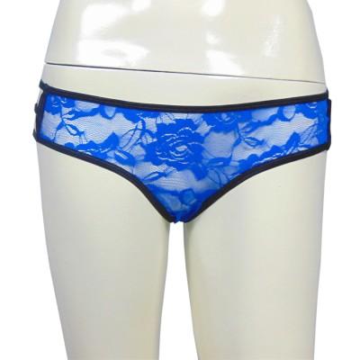 Muquam Women's Thong Black Panty
