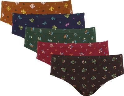 Bluto Komal Women's Brief Multicolor Panty