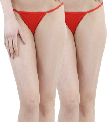 TIMI Women,s G-string Red Panty