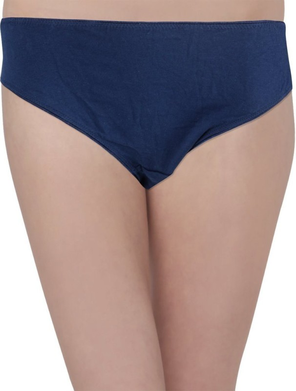 Hey It's Me Women's Brief Blue Panty(Pack of 1)