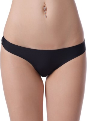 N-Gal Low rise comfort Panties. Women's Brief Black Panty
