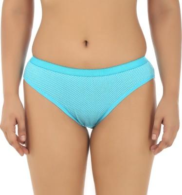 Embibo Women's Hipster Blue Panty(Pack of 1) at flipkart