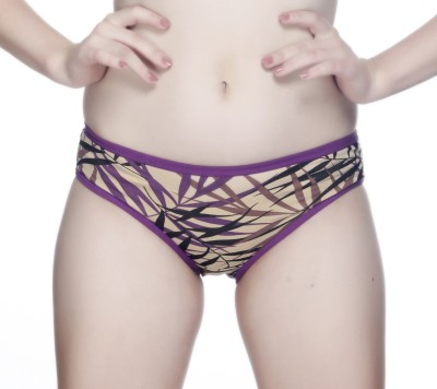 Nutex Women's Brief Purple, Red Panty