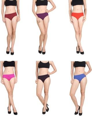 SK Dreams Women's Brief Multicolor Panty
