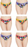 Girls Care Women's Hipster Multicolor Pa...