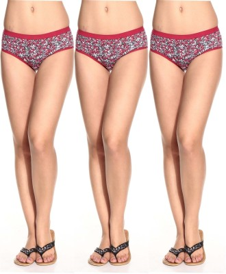 LovinoForm Stylist Women's Hipster Red Panty