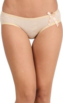 WOLFIE Women's Hipster Beige Panty