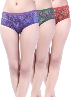 Softfeel Olena Women's Hipster Multicolor Panty