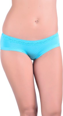 Naughtee Women's Hipster, Brief Blue Panty