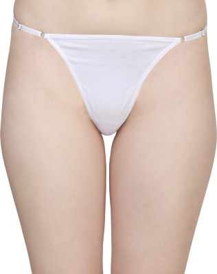 Figure N Fit Women's Thong White Panty(Pack of 1) at flipkart