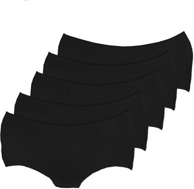 WEAR2TOSS Women's Disposable Black Panty