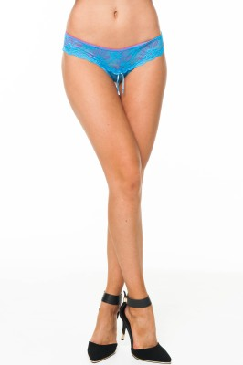 Under Cover Women's Thong Blue Panty