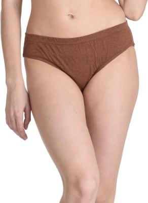 Inner Care Women's Brief Brown Panty