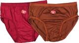 Padma Women's Brief Brown, Red Panty (Pa...