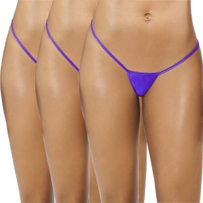 FIHA Women's G-string Blue Panty