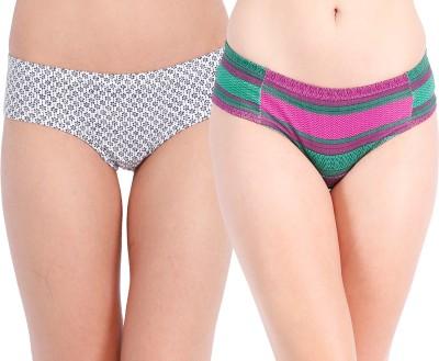 Tia by Ten on Ten Stylish Women's Bikini Multicolor Panty