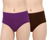 Menit Women's Hipster Purple, Brown Pant...