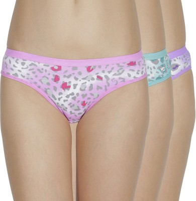 Girls Care Sgc84700 Women's Hipster Multicolor Panty