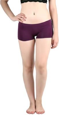 Diamond Doll Women's Boy Short Purple Panty(Pack of 1) at flipkart