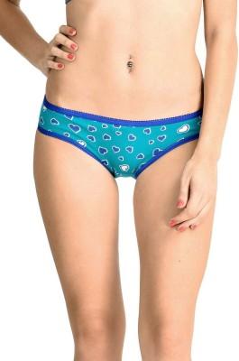 Lenora Women's Bikini Blue Panty