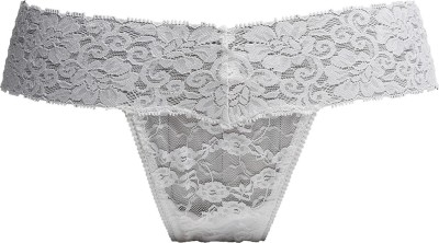 Luxemburg Women's Thong White Panty