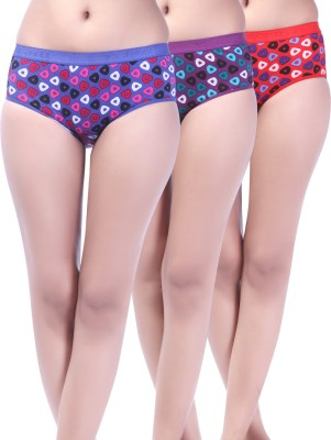 Softfeel Sf 42 Women's Hipster Multicolor Panty