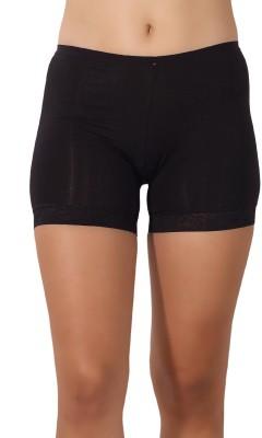 Shyle Women's Boy Short Black Panty