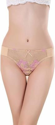 Aarti Apparels Womens Thong Beige Panty(Pack of 1)
