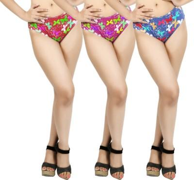 Body Liv Romance-Btrfly-3 Women's Brief Multicolor Panty