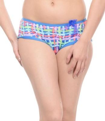 Ploomz Fashion Women's Hipster Blue Panty
