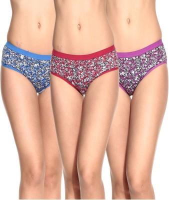 Ultrafit UL-P3001-4-5-6 Women's Brief Multicolor Panty
