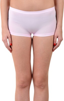 Mynte Women's Boy Short Pink Panty