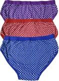 Floozy Women's Brief Purple, Red, Blue P...