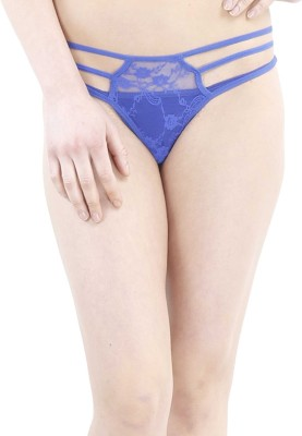 Muquam Women's Thong Blue Panty